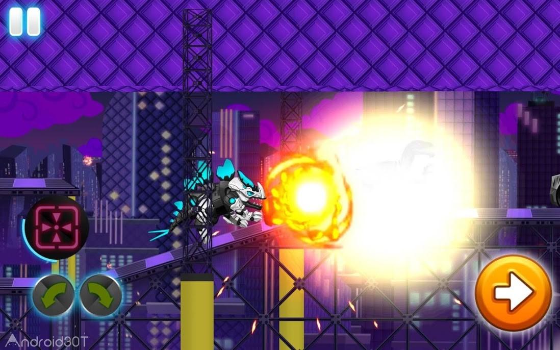 دانلود Dino Robot Wars: City Driving and Shooting Game 3.53 – بازی رقابتی داینو ربات اندروید