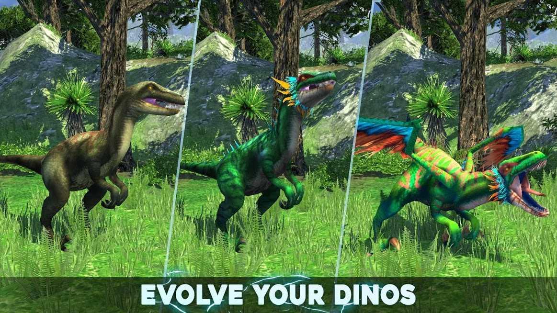 دانلود Dino Tamers – Jurassic Riding MMO 2.13 – بازی اکشن نبردهای ژوراسیک اندروید