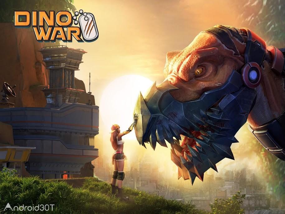 دانلود Dino War 2.1.0 – بازی استراتژیکی جنگ دایناسورها اندروید