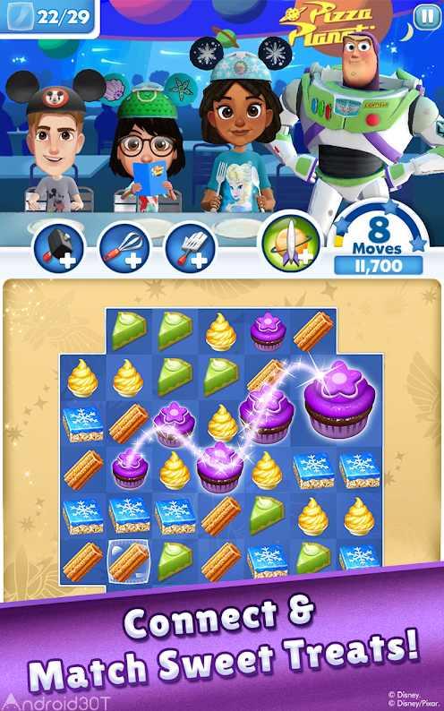 دانلود Dream Treats – Match Sweets 2.4.2 – بازی پازلی شیرینی های خوشمزه اندروید
