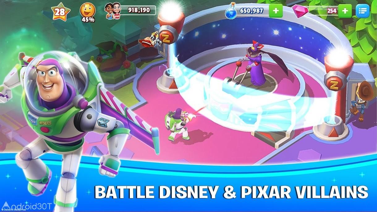 دانلود Disney Magic Kingdoms 5.0.0h – بازی پادشاهی جادویی دیزنی اندروید