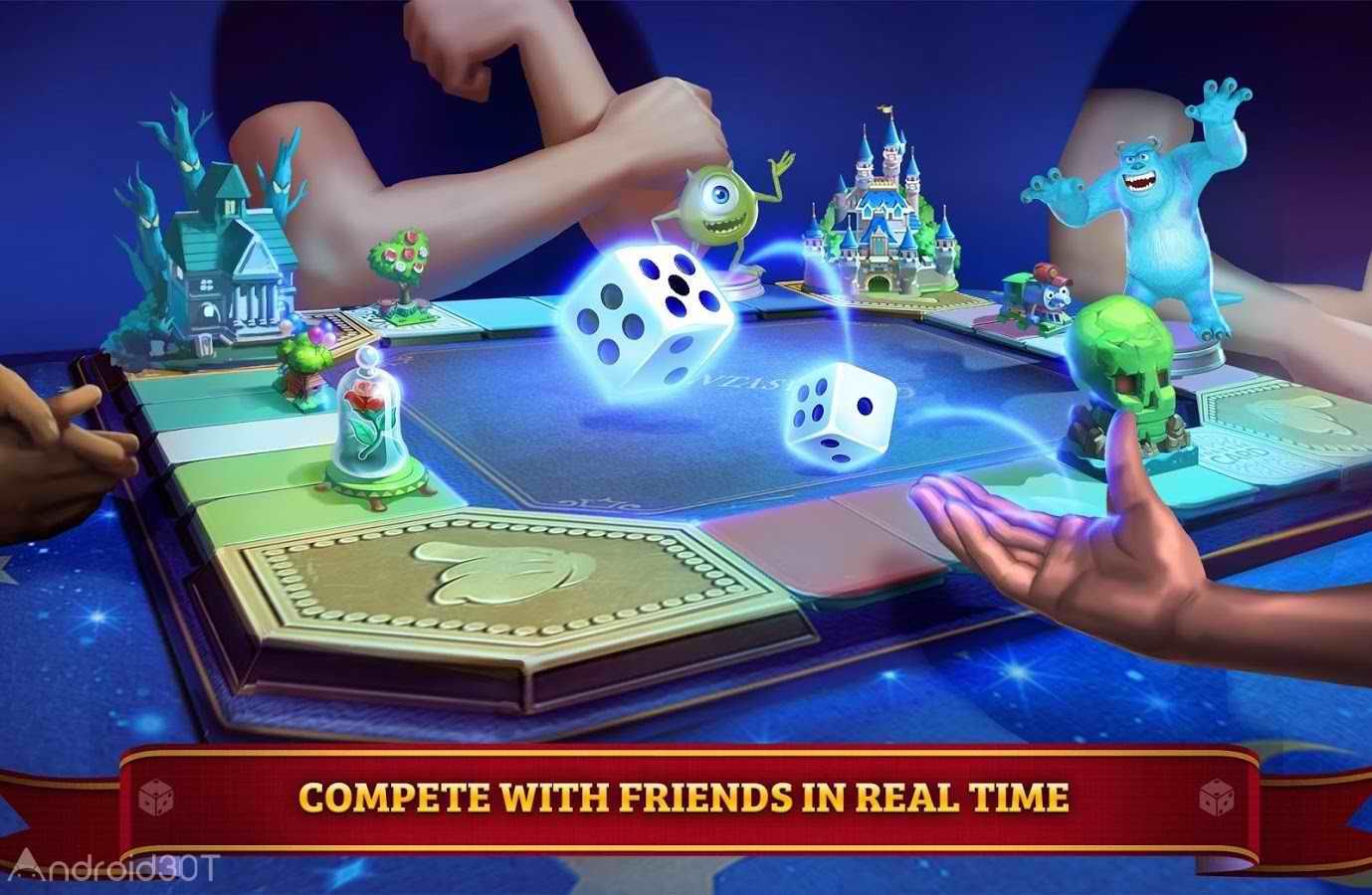 دانلود Disney Magical Dice : The Enchanted Board Game 1.54.5 – بازی تاس جادویی اندروید