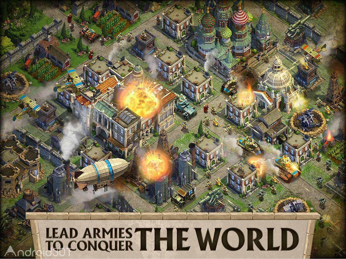 دانلود DomiNations 9.900.903 – بازی استراتژیک فرمانروایی اندروید