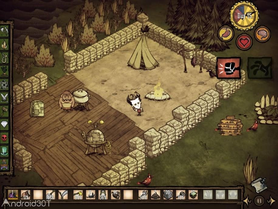دانلود Don't Starve: Pocket Edition 1.17 – بازی ماجراجویی متفاوت برای اندروید