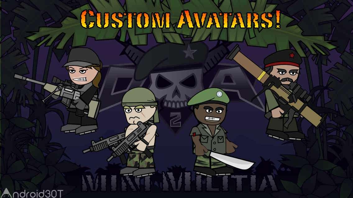 دانلود Doodle Army 2 : Mini Militia 5.3.4 – بازی اکشن جنگ ارتش احمق اندروید