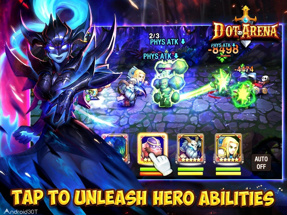 Dot Arena 5.1.0 – بازی اکشن میدان نبرد اندروید