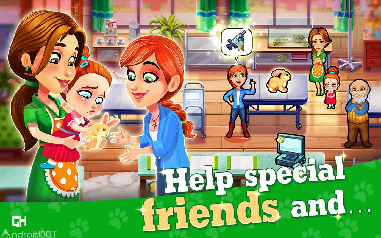 دانلود Dr. Cares – Pet Rescue 911 Full 1.5 – بازی دکتر حیوانات اندروید