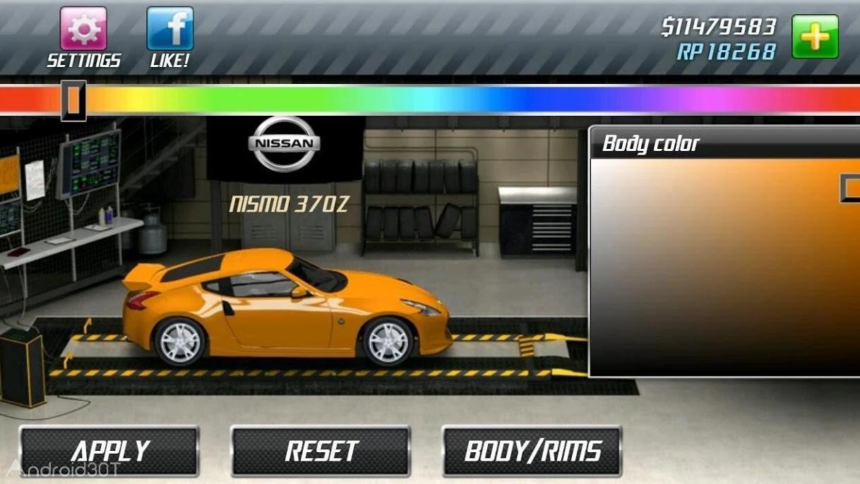 دانلود Drag Racing 1.8.11 – بازی مسابقات ماشین سواری اندروید