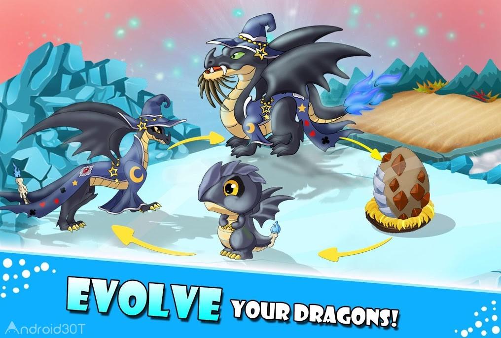 دانلود Dragon Castle 11.20 – بازی سرگرم کننده قلعه اژدها اندروید