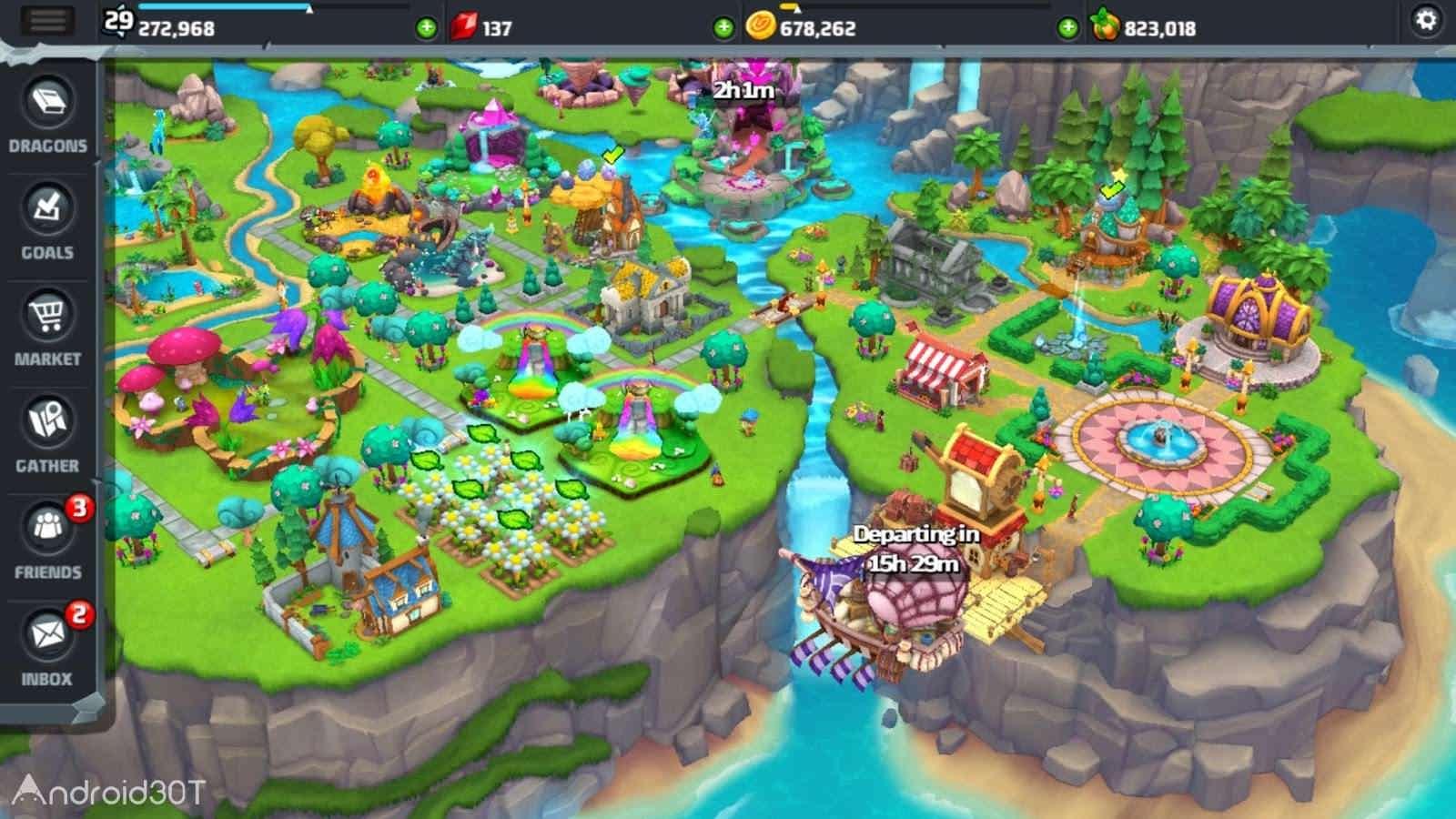 دانلود DragonVale World 1.26.0 – بازی شبیه سازی دره اژدها اندروید