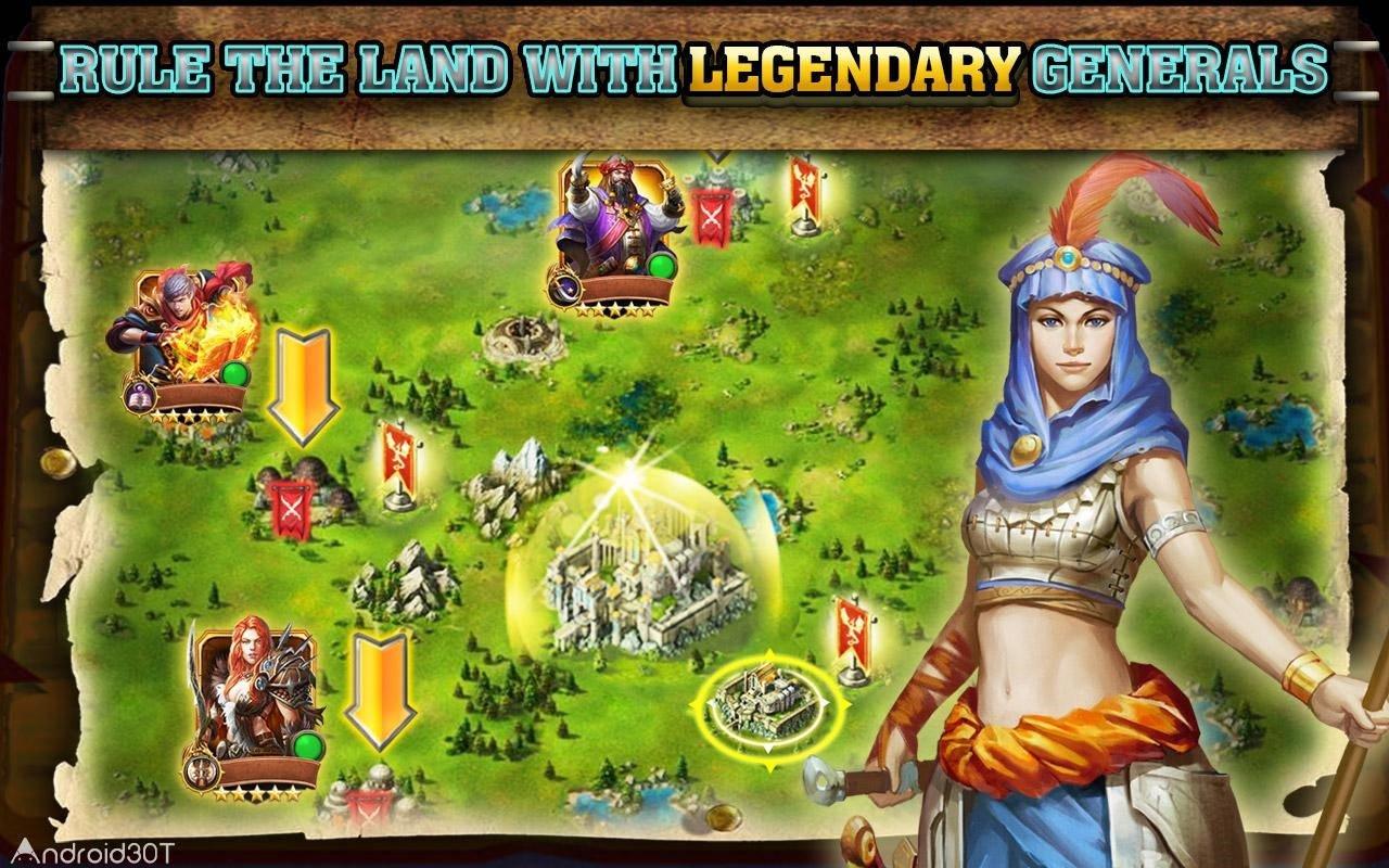دانلود Dragons of Atlantis: Heirs 9.7.0 – بازی اژدهایی از آتلانتیس اندروید