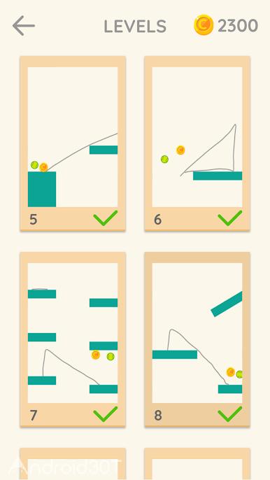 دانلود Draw Lines 1.0.7 – بازی پازلی خطوط اندروید