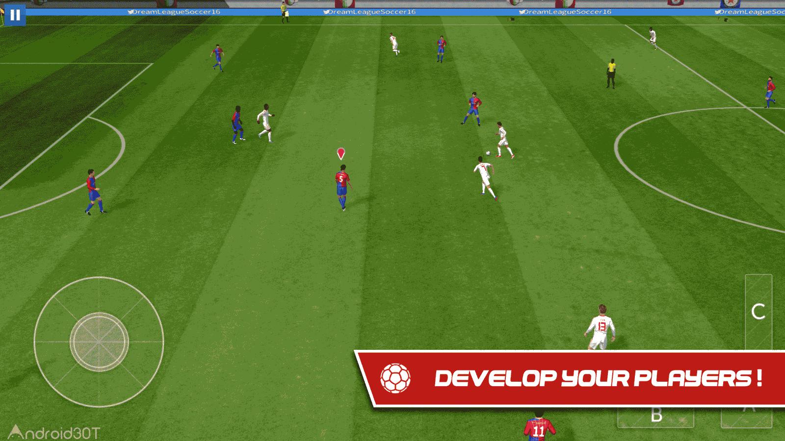 دانلود Dream League Soccer 2019 6.04 – بازی گرافیکی لیگ فوتبال اندروید