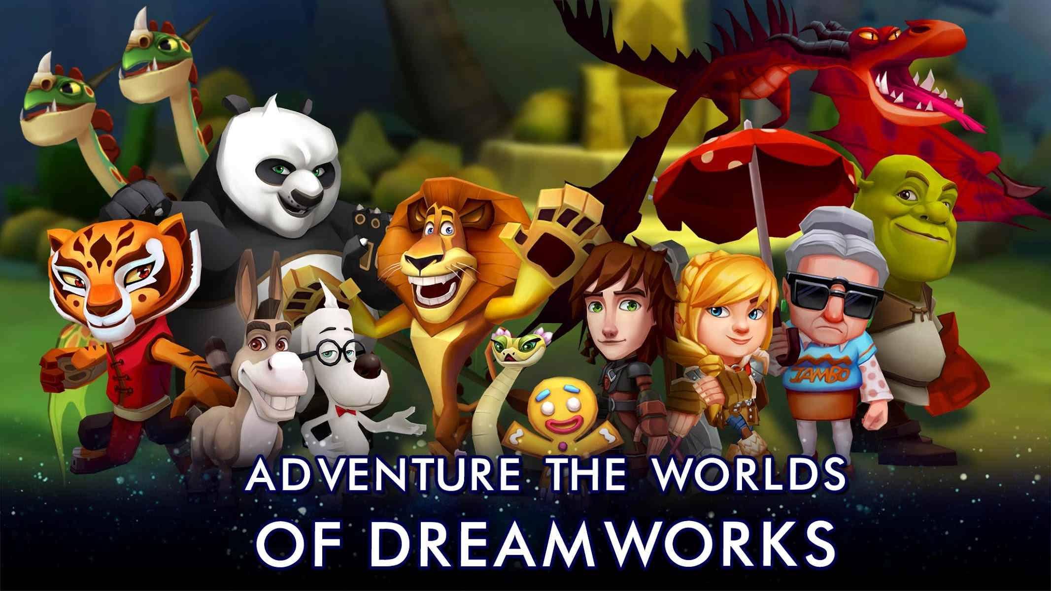 دانلود DreamWorks Universe of Legends 1.0.10 – بازی جهان افسانه ها اندروید