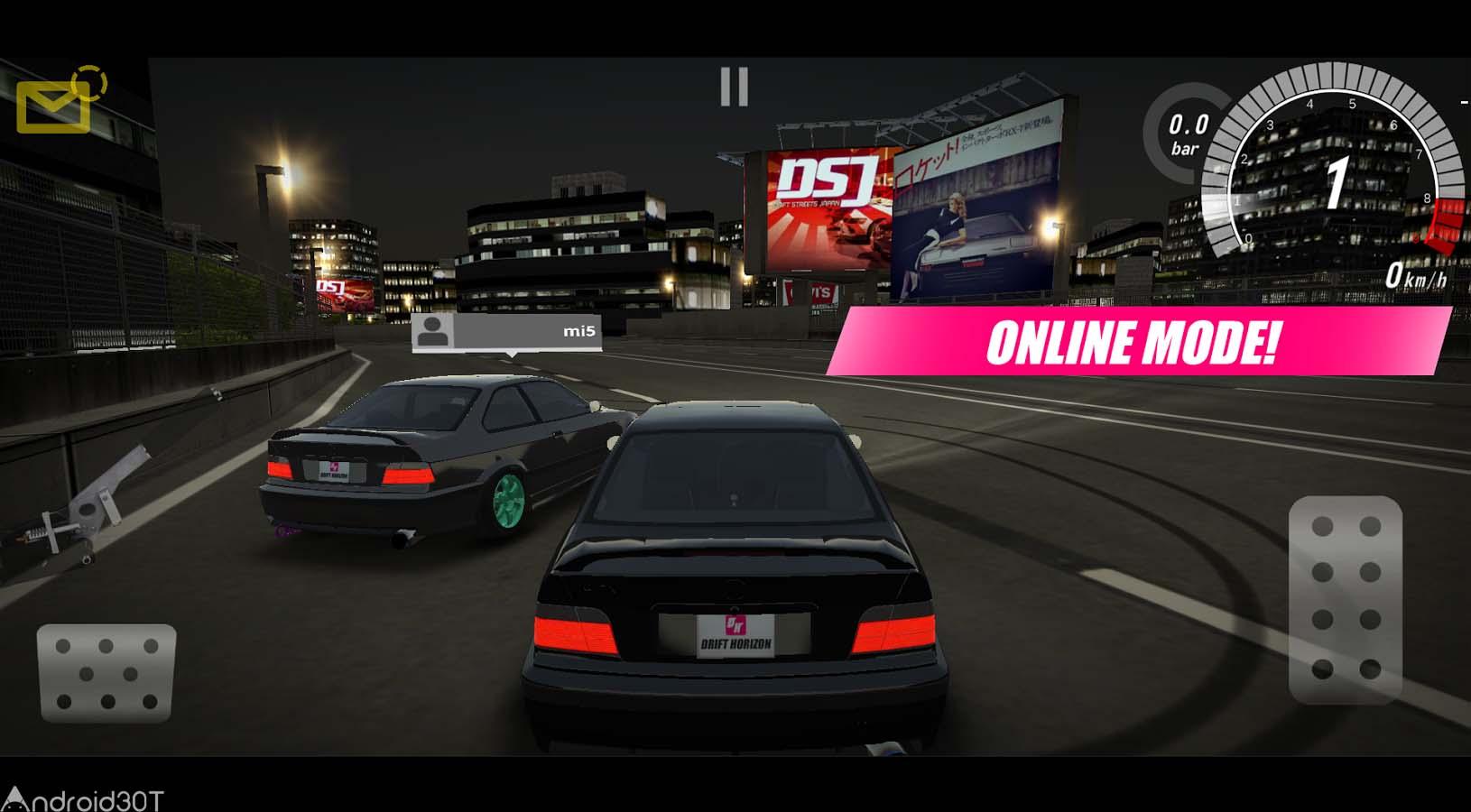 دانلود Drift Horizon Online 5.8.0 – بازی مسابقات سرعت اندروید
