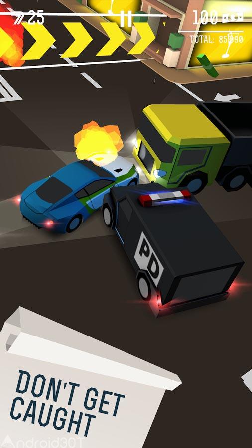 دانلود Drifty Chase 2.1 – بازی جذاب تعقیب مرگبار اندروید