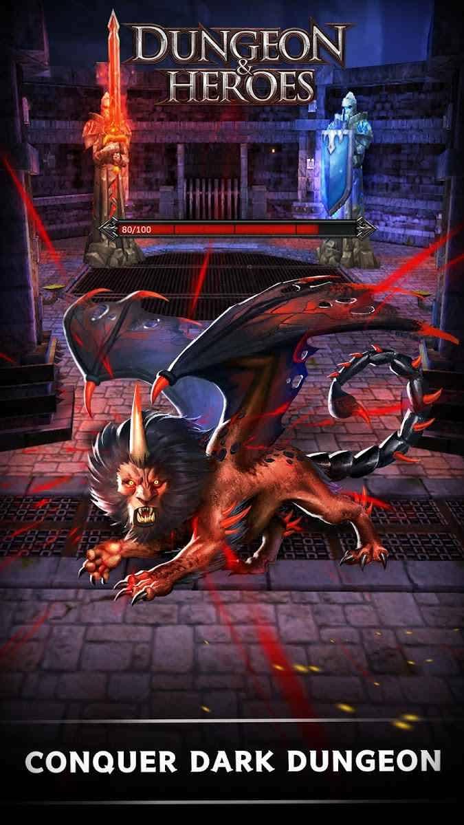 دانلود Dungeon & Heroes: 3D RPG 1.5.121 – بازی ماجراجویی سیاه چال و قهرمانان اندروید