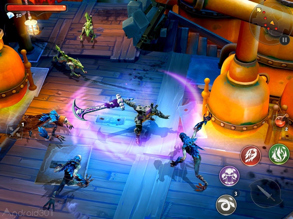 دانلود Dungeon Hunter 5 v5.9.2a – بازی شکارچی سیاه چال 5 اندروید