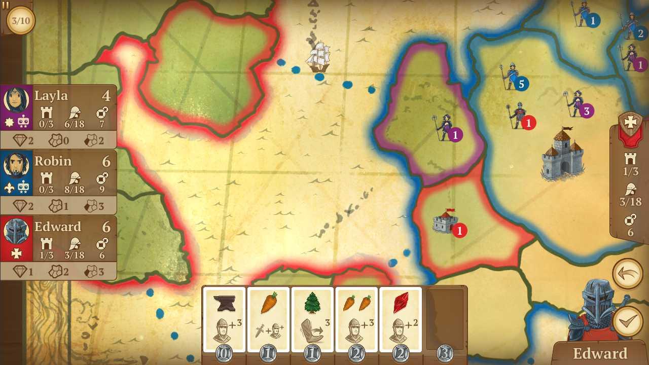 دانلود Eight-Minute Empire 1.2.8 – بازی عالی و سرگرم کننده هشت دقیقه امپراتوری اندروید