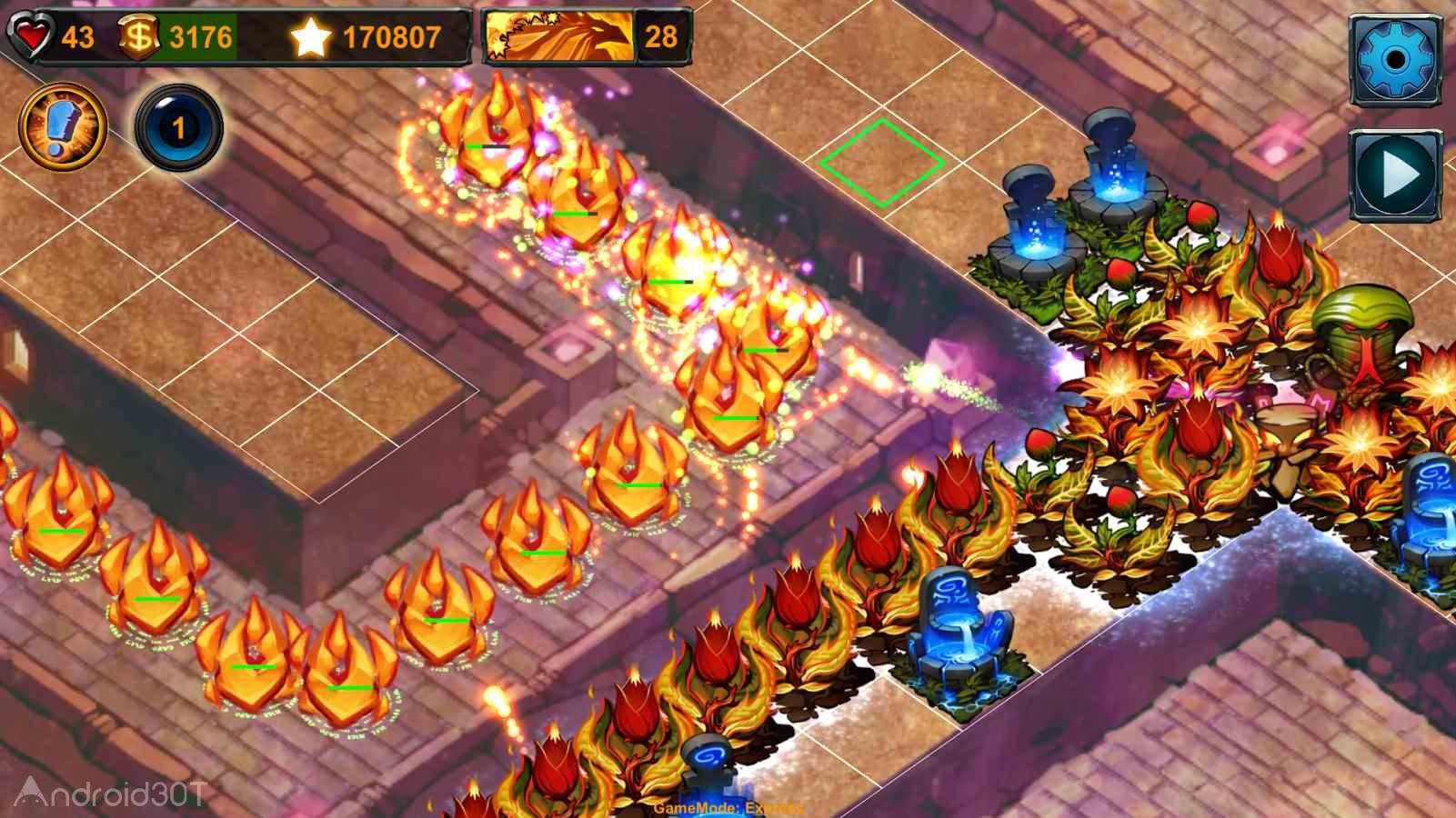 دانلود Element TD 1.9.1 – بازی استراتژیک عناصر برج دفاعی اندروید