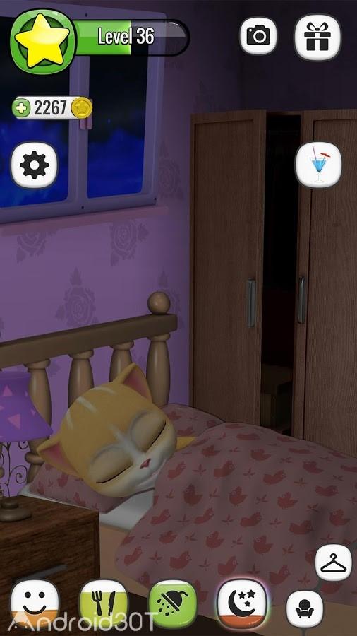 دانلود Emma The Cat – Virtual Pet 2.5 – بازی سرگرم کننده گربه اما اندروید