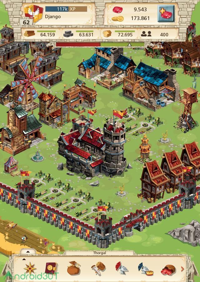 دانلود Empire: Four Kingdoms 4.14.51 – بازی فرمانروایی چهار پادشاهی اندروید