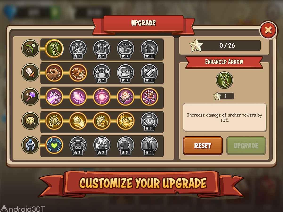 دانلود Empire Warriors TD: Defense Battle 2.4.21 – بازی استراتژی جنگجویان امپراطوری اندروید