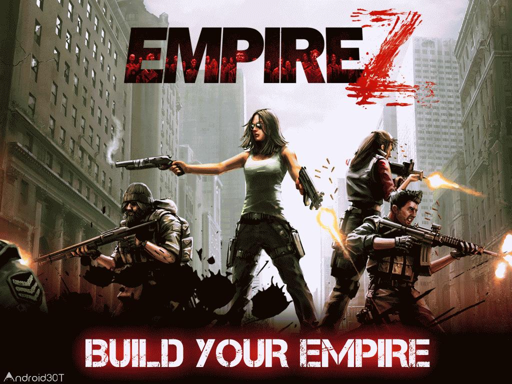 دانلود Empire Z: Endless War 2.2.5 – بازی مهیج امپایر Z برای اندروید