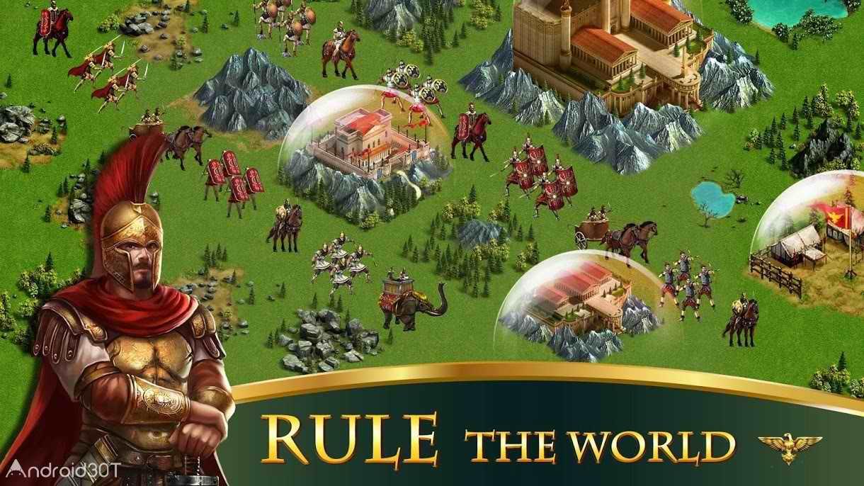 دانلود Empire:Rome Rising 1.53 – بازی استراتژیکی امپراطوری روم باستان برای اندروید
