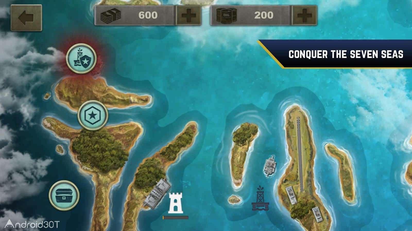 دانلود Enemy Waters : Submarine and Warship battles 1.139 – بازی آبهای دشمن اندروید