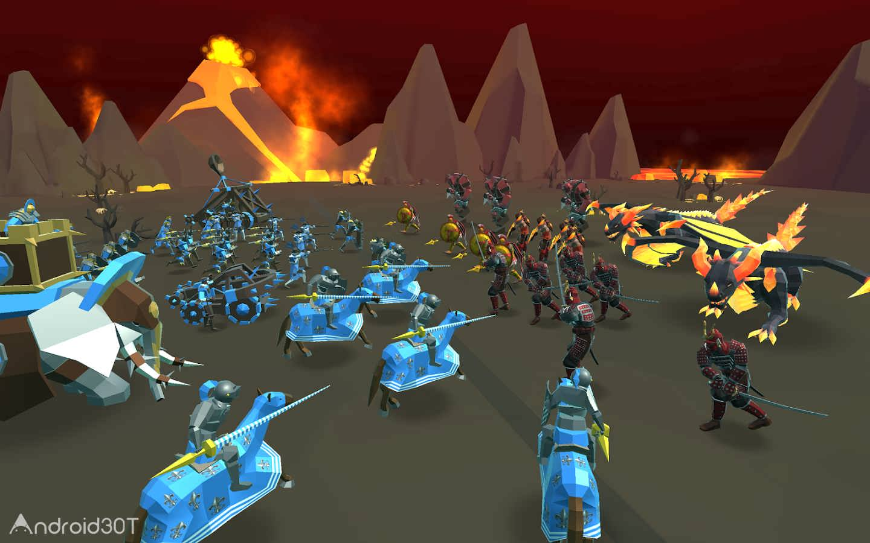 دانلود Epic Battle Simulator 2 v1.4.60 – بازی شبیه ساز میدان نبرد اندروید