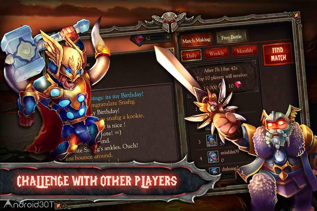 دانلود Epic Heroes Summoners 1.9.0.234 – بازی نقش آفرینی قهرمانان حماسی اندروید