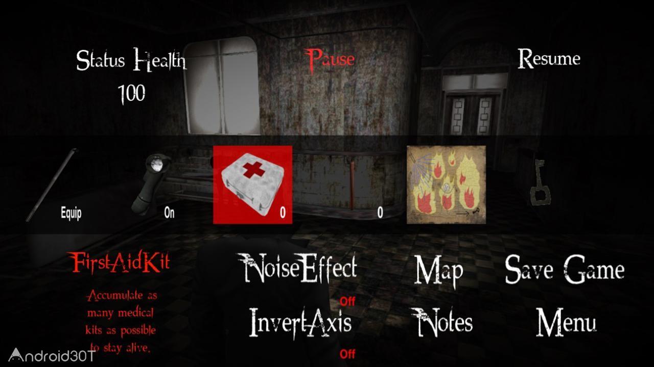 دانلود Escape From The Dark redux 1.2.2 – بازی ترسناک فرار از تاریکی اندروید