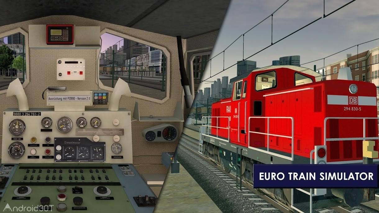 دانلود Euro Train Simulator 2 1.0.5.6 – بازی شبیه سازی قطار اندروید
