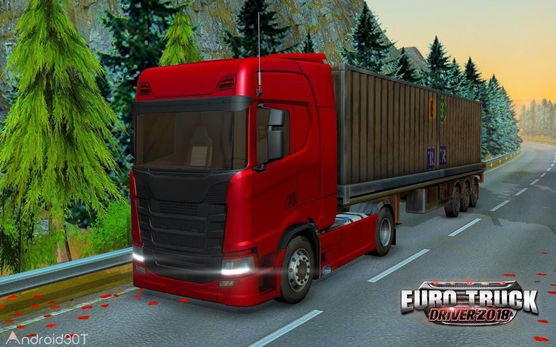 دانلود Euro Truck Driver 2018 3.5 – بازی شبیه سازی رانندگی کامیون اندروید