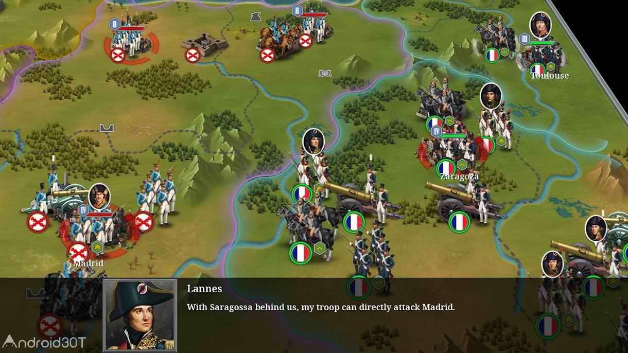 دانلود European War 6: 1914 1.3.26 – بازی جنگ های اروپایی اندروید