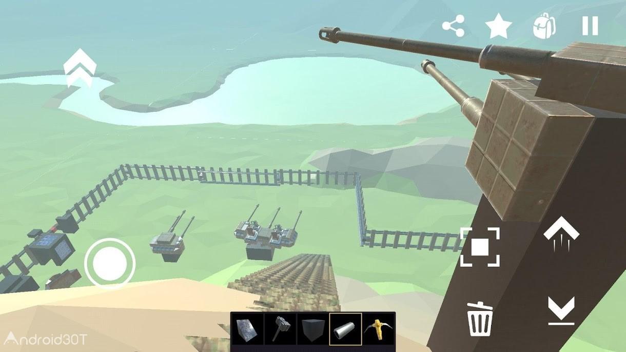 دانلود Evertech Sandbox 0.1.0.82 – بازی شبیه ساز ماسه بازی اندروید