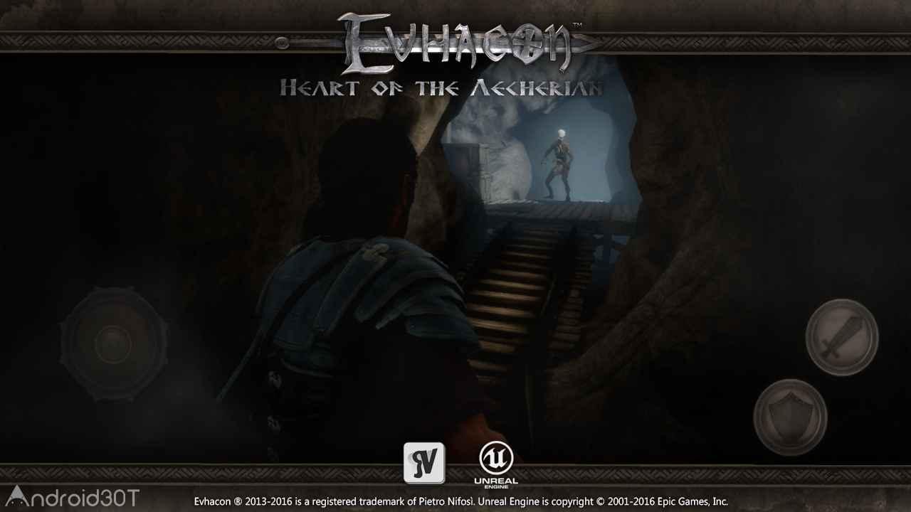 دانلود Evhacon 2 HD v1.2 – بازی نقش آفرینی اواکن 2 اندروید