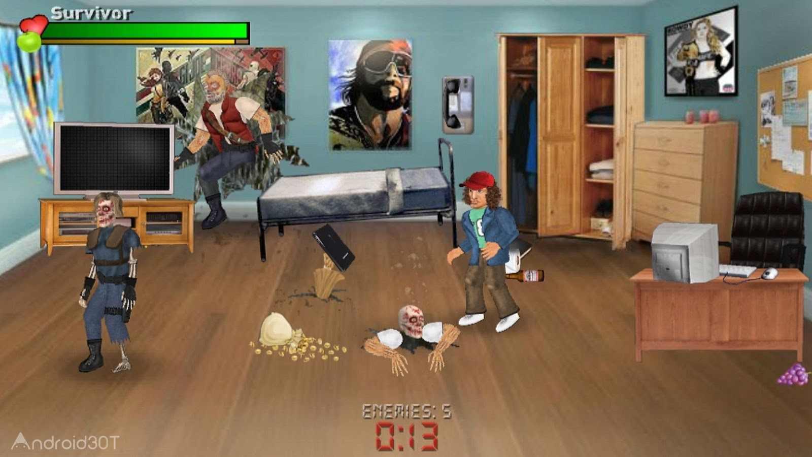 دانلود Extra Lives (Zombie Survival Sim) 1.110 – بازی بقا در برابر زامبی ها برای اندروید