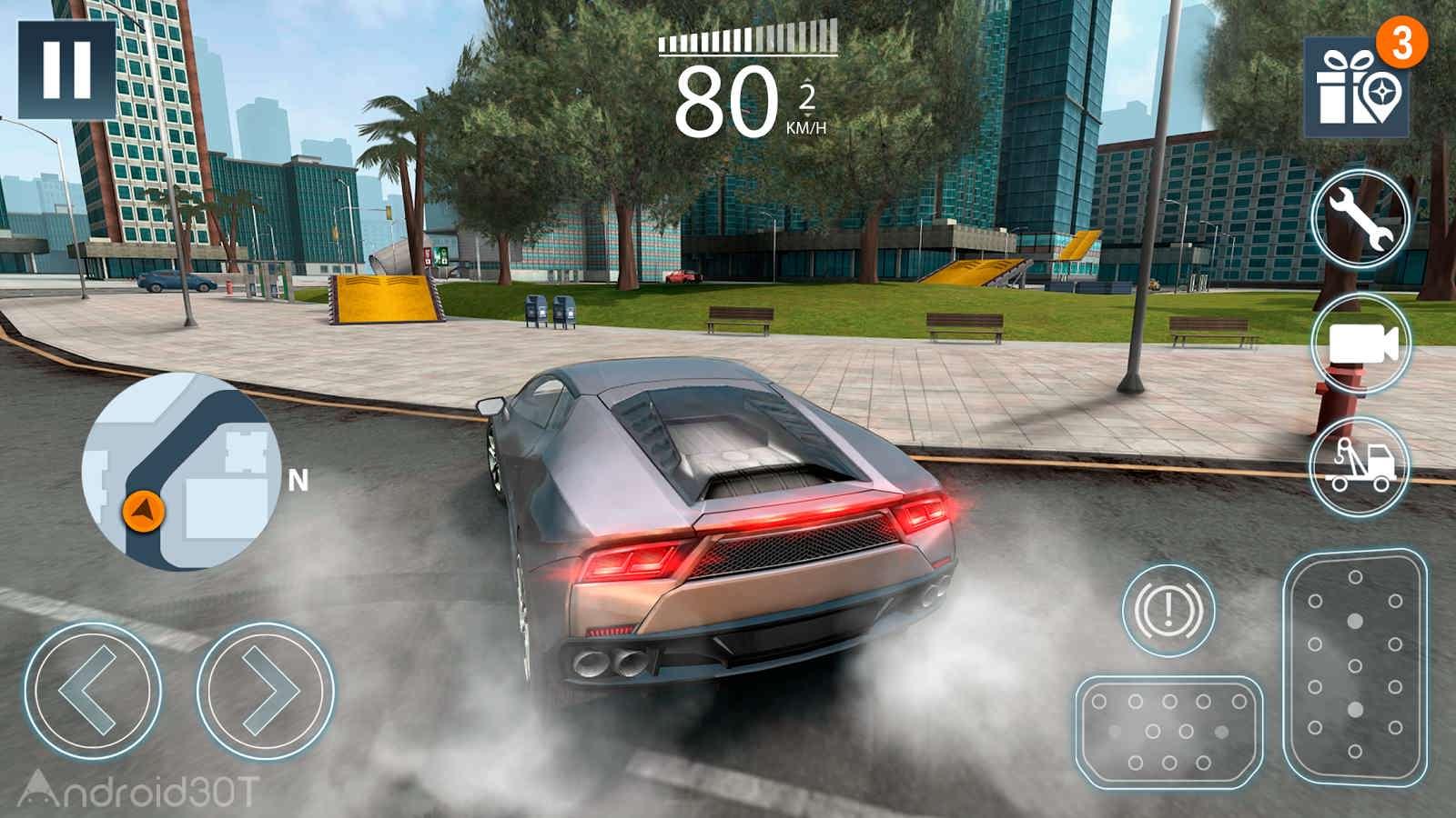 دانلود Extreme Car Driving Simulator 2 v1.4.0 – بازی ماشین سواری آفرود اندروید