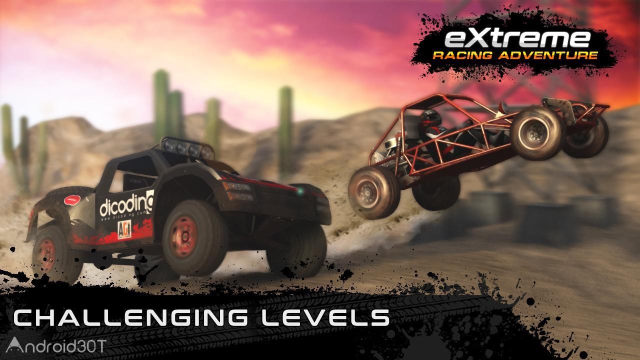 دانلود Extreme Racing Adventure 1.4 – بازی ماشین سواری بدون دیتا اندروید