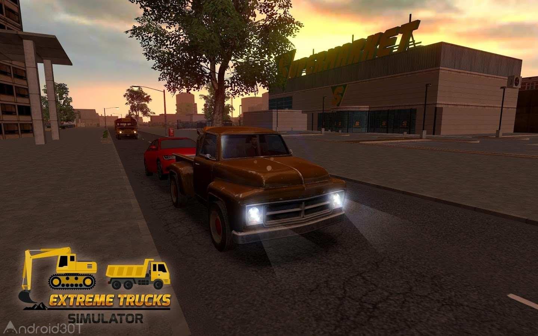 Extreme Trucks Simulator 1.3.1 – بازی ساخت و ساز با کامیون اندروید