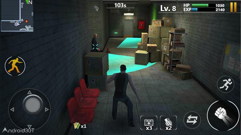 دانلود 1.1.4 Prison Escape – بازی اکشن فرار از زندان برای اندروید