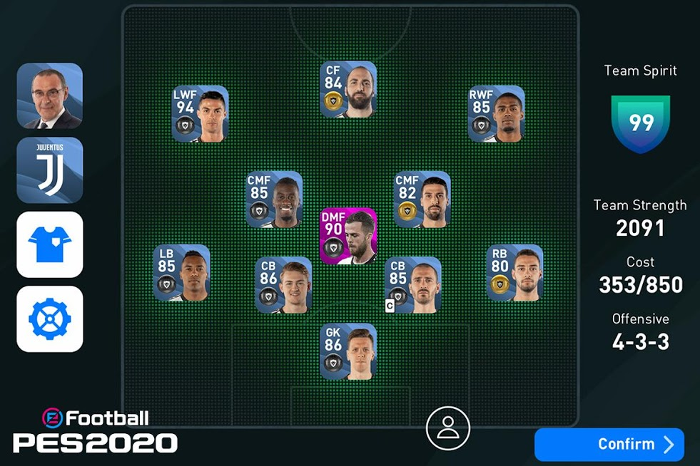 دانلود ۵٫۰٫۰ eFootball PES 2020 – بازی فوتبال پیس برای اندروید