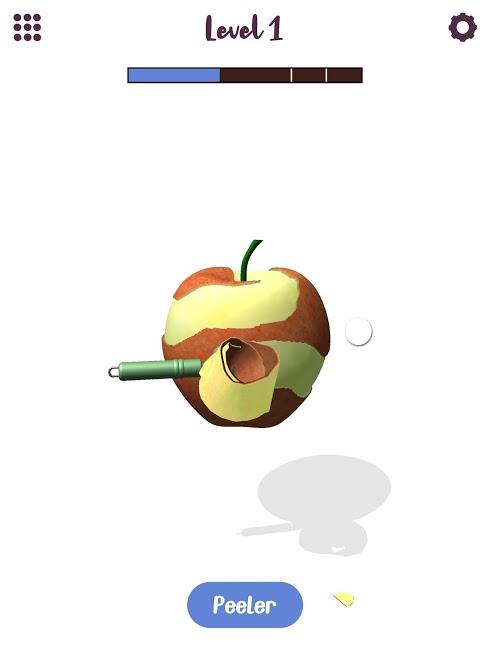 دانلود i Peel Good v1.8.2 – بازی جذاب پوست کندن میوه ها برای اندروید