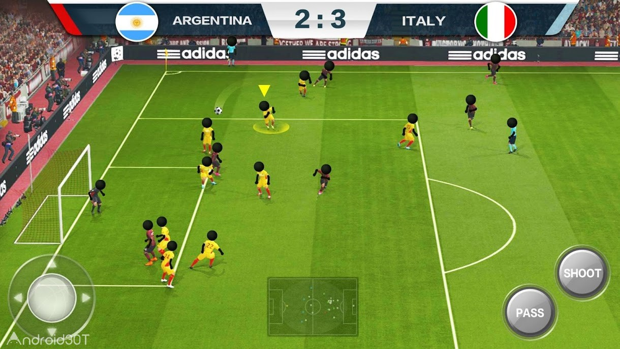 دانلود 2019 Football Fun – Fantasy Sports Strike Games 1.1.2 – بازی فوتبالی جالب برای اندروید