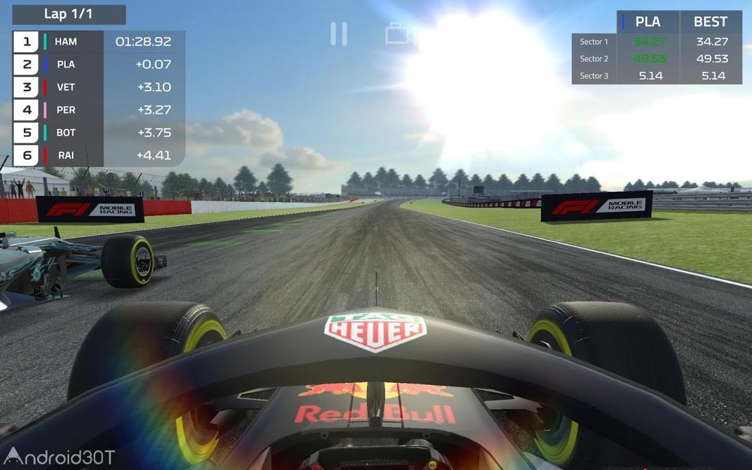 دانلود F1 Mobile Racing 1.21.21 – بازی مسابقات فرمول یک اندروید