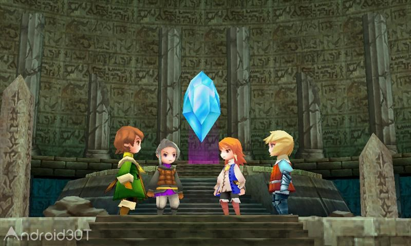 Final Fantasy III v1.2.3 – بازی نقش آفرینی فاینال فانتزی 3 اندروید