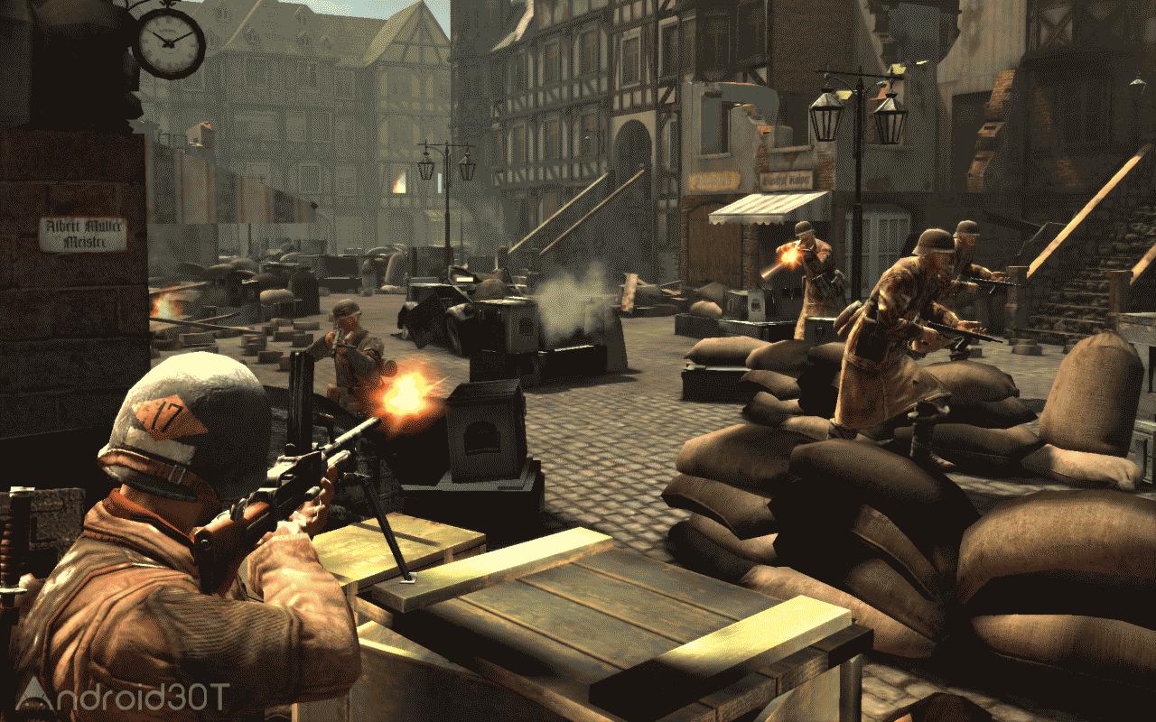 FRONTLINE COMMANDO: WW2 v3.0.2 – بازی تکاور خط مقدم : جنگ جهانی دوم اندروید