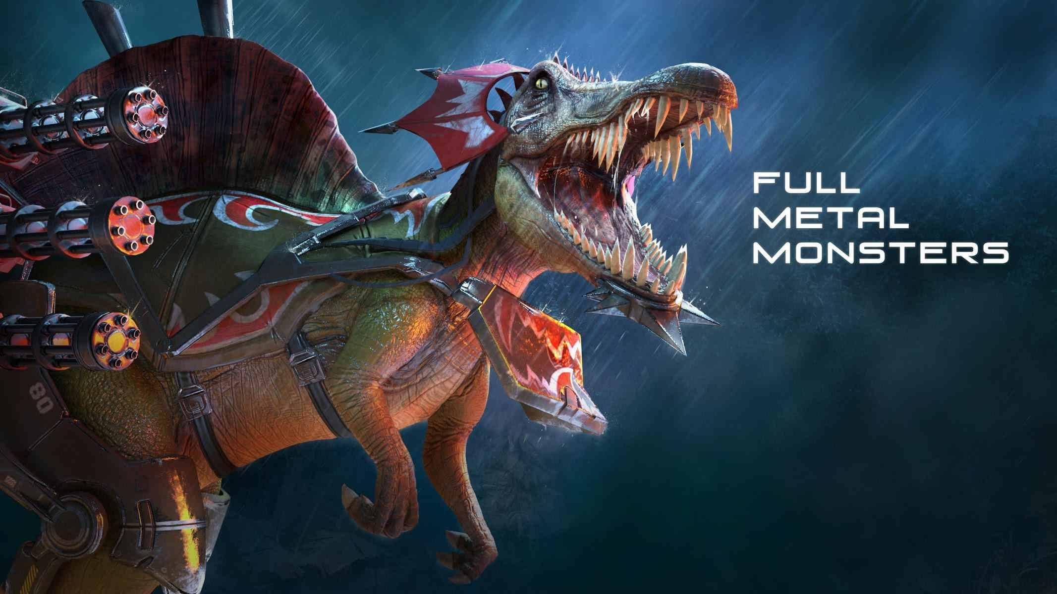 دانلود FULL METAL MONSTERS 0.10.1 – بازی اکشن حمله ی دایناسورها اندروید